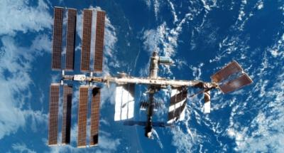 La ISS fotografata dallo Space Shuttle Discovery