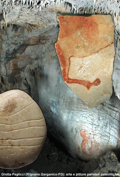 Grotta Paglicci (Rignano Garganico-FG): arte e pitture parietali paleolitiche