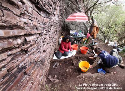 La Pietra (Roccastrada-GR): cava di diaspro dell'Età del Rame