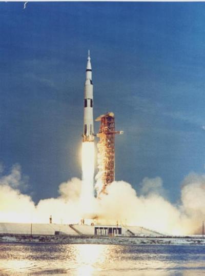 Saturno V lancio 16 luglio 1969