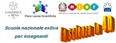 logo scienza in 4D