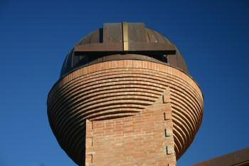La cupola che ospita l'Osservatorio Astronomico.