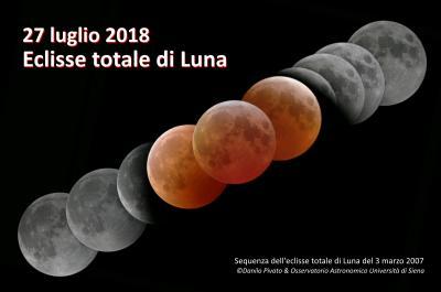 Sequenza dell'eclisse di Luna del 3 marzo 2007