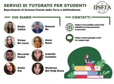 Studenti tutor a.a. 2020-2021