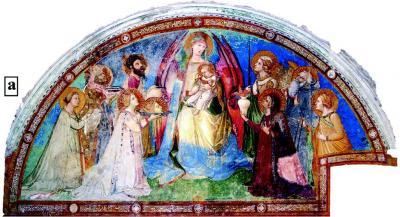 Archeometria: la Maestà di Ambrogio Lorenzetti, Chiesa di S. Agostino a Siena