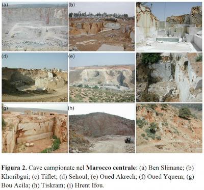 Cave campionate nel Marocco centrale